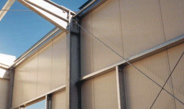 Insulated steel panels